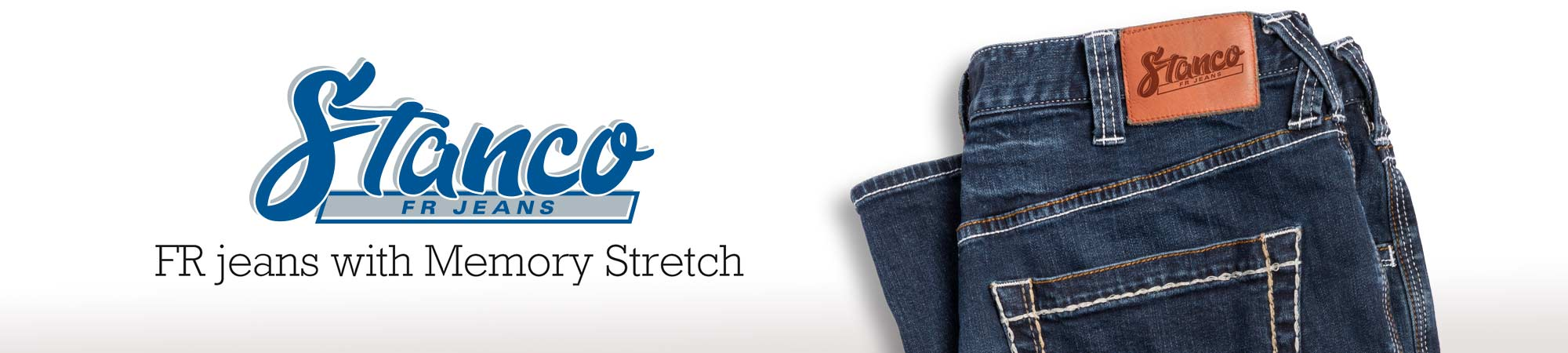 Stanco FR Jeans with Memory Stretch.